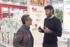 Giuseppe Vilardo a colloquio con il capo area Agras dr. Cazzola