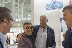 Il cordiale incontro tra  Giuseppe Vilardo e l'Amministratore Delegato Farmina, dr. Angelo Russo