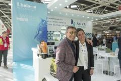 Il sig. Vilardo Con la responsabile commerciale della Laviosa, distributrice del marchio Lindocat, Maria Giovanna Spluga.
