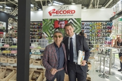 Davide Franco ( Rekord) insieme al sig. Giuseppe Vilardo